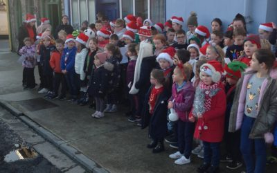 Christmas time at Scoil Naomh Iosef