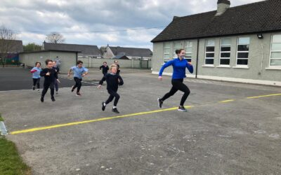 Active Schools Week: Wednesday 28th Getting them steps up!!