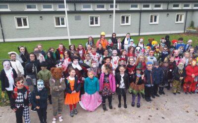 Green School Halloween Walk/WOW