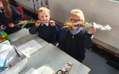 Making A Broomstick STEM Activity
